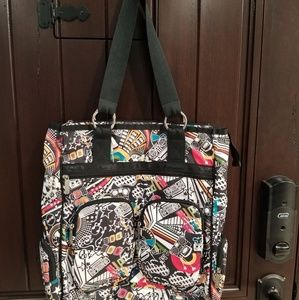 lesportsac Radio Music Pop Large Tote Shoulder bag